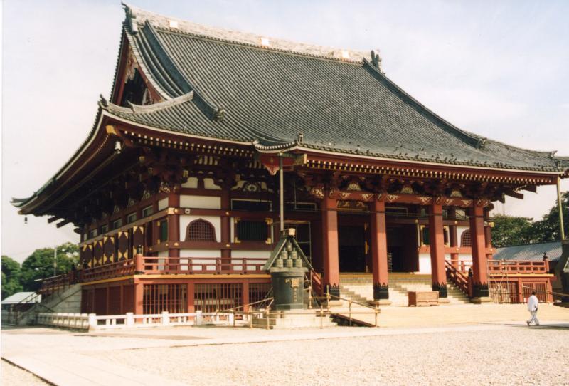 池上 大堂(昭和30年代末再建)